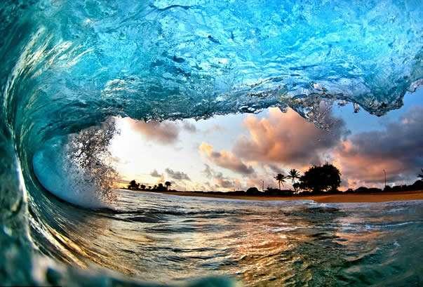 noticias Dentro de las impresionantes olas de Hawai (Fotos)