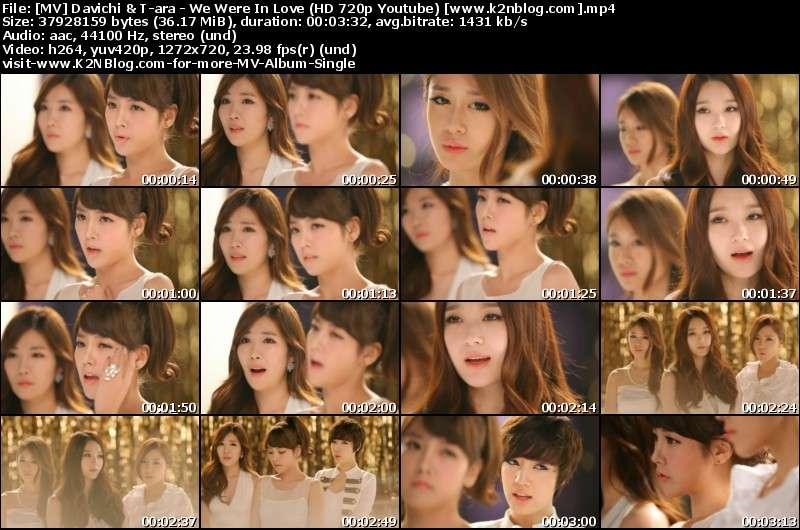 Download [MV] Davichi & T-ara – We Were In Love (HD 720p Youtube)