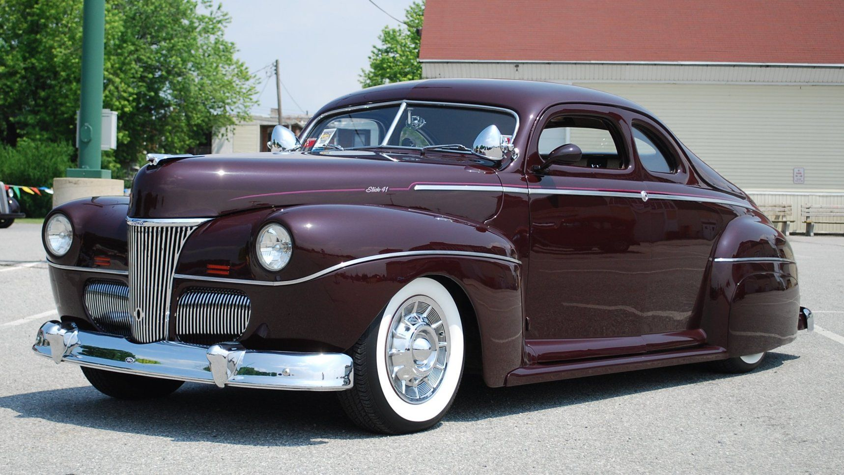 Ford Coupe Custom 1941 Only Cars And Oldsmobile Station Wagon
