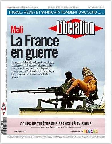 Libération Samedi 12 et dimanche 13 janvier 2013