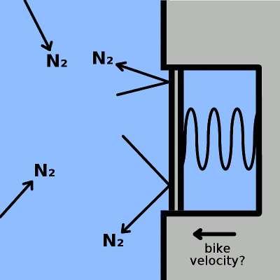 pressure sensor schematic, vertical mount