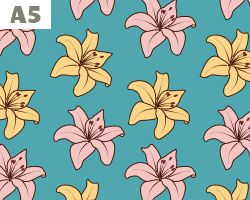 Lillies Pattern