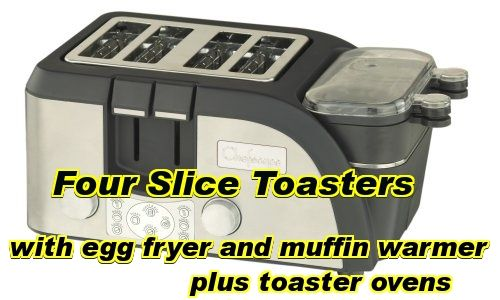 four slice toasters