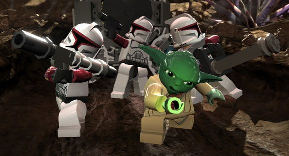 Star Wars 3 The Clone Wars Game. LEGO Star Wars III: The Clone