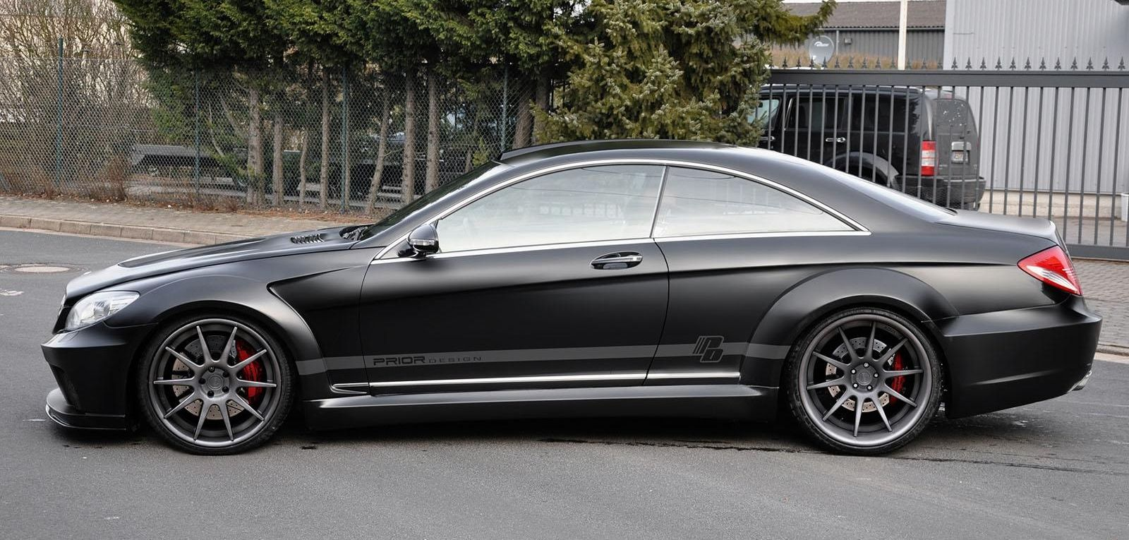 world otomotif mercedes benz cl 500 w216 black edition. Black Bedroom Furniture Sets. Home Design Ideas